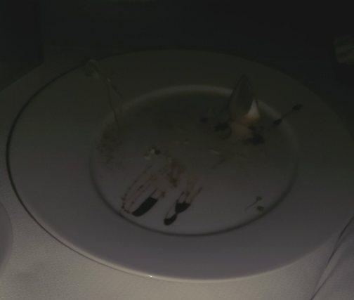 Crab cake serving platter