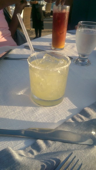 Lime Margarita on the Rocks