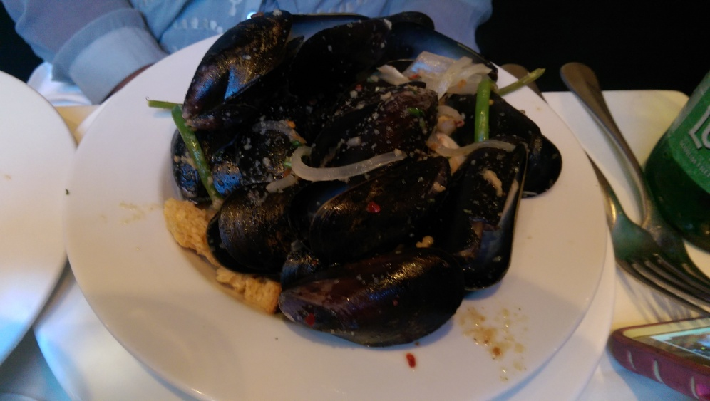 Mussels Dish